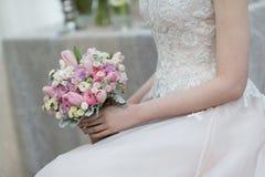 Braut-Blumenstrauß Lizenzfreie Stockfotografie