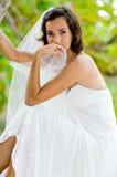 Braut im Baum Lizenzfreie Stockfotos