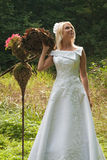 Braut im Freien Lizenzfreie Stockbilder