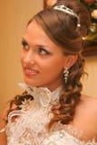 Braut im Hochzeitskleid Lizenzfreie Stockfotografie