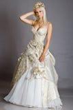 Braut im Kleid Stockbilder