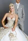 Braut im Kleid Lizenzfreie Stockfotografie