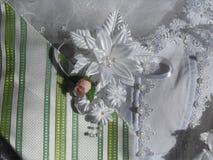 Braut im weißen Kleid Lizenzfreie Stockfotos