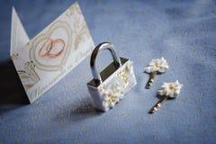 Braut im weißen Kleid Lizenzfreie Stockfotografie