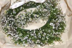 Braut-Kopfschmuck Stockbilder