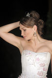 Braut mit Tiara Lizenzfreies Stockfoto