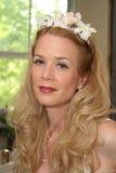 Braut-Portrait stockfoto