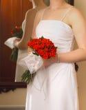 Braut-Rosen Stockbild