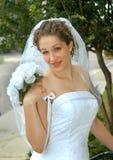 Braut so träumerisch Stockbild