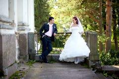 Braut u. Bräutigam Lizenzfreie Stockfotografie