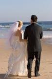 Braut u. Bräutigam Lizenzfreies Stockfoto