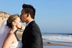 Braut u. Bräutigam Stockfoto