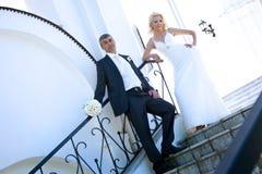 Braut u. Bräutigam Lizenzfreie Stockfotos