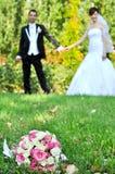 Braut und Bräutigam Lizenzfreies Stockfoto