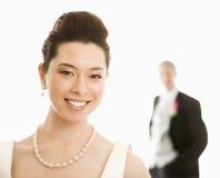 Braut und Bräutigam. stockfoto