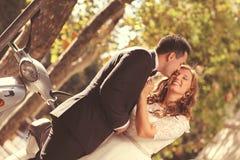 Braut und Bräutigam Lizenzfreie Stockfotos