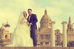 Braut und Bräutigam Stockbild