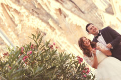 Braut und Bräutigam Stockfoto