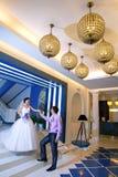 Braut und Bräutigam Stockfotografie