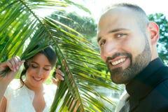 Braut und Bräutigam Marriage Concept Lizenzfreie Stockbilder