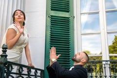 Braut und Bräutigam Marriage Concept Lizenzfreie Stockfotografie