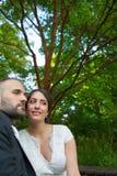 Braut und Bräutigam Marriage Concept Lizenzfreie Stockfotos
