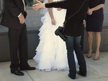 Braut und Bräutigam Wedding Day Photographer Lizenzfreie Stockfotografie