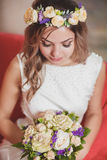 Braut weich hellrot Lizenzfreie Stockbilder
