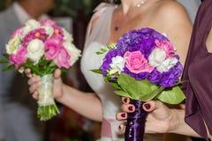 Brautblumensträuße Lizenzfreie Stockbilder