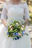 Brautblumensträuße Lizenzfreies Stockfoto