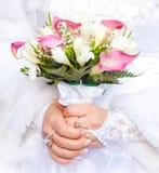 Brautblumenstrauß Lizenzfreie Stockbilder
