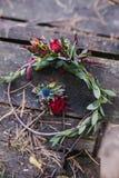 Brautblumenstrauß der schönen Hochzeit stockfotografie