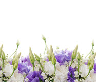 Brautblumenstrauß vom Weiß und vom Rosa lizenzfreies stockfoto