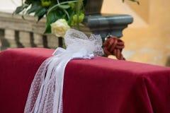 Brautdekoration Stockfotos