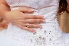 Brauthand Stockbild