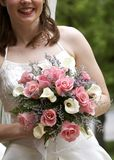 Brauthochzeits-Blumenstrauß stockfotos