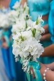 Brauthochzeitsblumen- und -brautblumenstrauß Stockbild