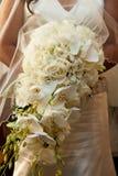 Brauthochzeitsblumenstrauß Stockfotografie