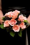 Brautjunferblumenstrauß Lizenzfreies Stockbild