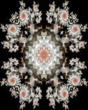 Brautmittelstückfliese Stockbild