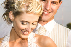 Brautpaare lizenzfreie stockfotografie