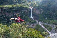 Brautschleierwasserfall, Banos, Ecuador
