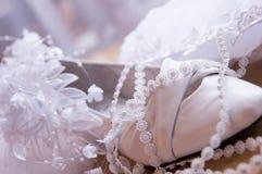 Brautschuhe Stockbilder