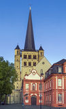 Brauweiler-Abtei, Deutschland Stockfotografie