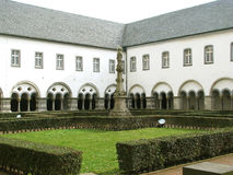 Brauweiler-Abtei nahe Köln (Deutschland) Stockfotografie