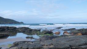 Brava海滩在Buzios,巴西 免版税库存照片