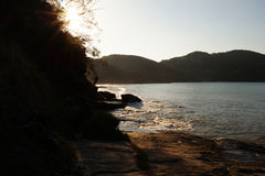 Brava海滩 免版税库存照片
