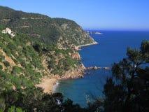 brava Cataluna costa Zdjęcia Stock