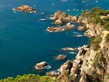 brava costa krajobraz typowy Fotografia Stock