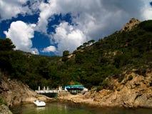 brava costa krajobraz typowy Obraz Royalty Free